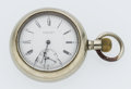 Timepieces:Pocket (pre 1900) , E. Howard 15 Jewel Open Face Pocket Watch. ...
