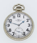 Timepieces:Pocket (post 1900), Ball 23 Jewel Open Face Pocket Watch. ...