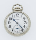 Timepieces:Pocket (post 1900), Illinois 21 Jewel 60 Hour Bunn Special Open Face Pocket Watch. ...