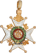 Military & Patriotic:WWI, Most Honorable Order of the Bath - Military, in 22K Gold and Enamels...