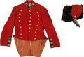 Militaria:Uniforms, Pennsylvania Militia Hussar Uniform C. 1870.... (Total: 2 Items)