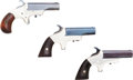 Handguns:Derringer, Palm, Lot of Three Assorted 19th Century Single Shot Derringers....(Total: 3 Items)