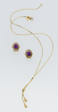 Estate Jewelry:Suites, Amethyst, Gold Jewelry. ...