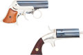 Handguns:Derringer, Palm, Lot of Two 19th Century Derringers.... (Total: 2 Items)