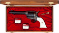 Handguns:Single Action Revolver, Rare Long Fluted Colt Single Action Army Revolver Shipped to El Paso 1915....