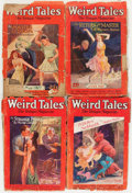 Pulps:Horror, Weird Tales Group (Popular Fiction, 1927-33) Condition: AverageFR.... (Total: 22 Comic Books)