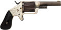 Handguns:Single Action Revolver, Engraved Brooklyn Arms Co. Front Loading Pocket Revolver....