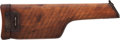 Handguns:Semiautomatic Pistol, Detachable Wooden Holster Shoulder Stock for a German Model 1896Mauser Semi-Automatic Pistol....