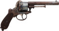 Handguns:Muzzle loading, Belgian Pinfire Double Action Revolver....