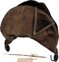Military & Patriotic:Revolutionary War, Bicorn Hat and Quill Pen Used by General John Stark.... (Total: 2 Items)