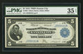 Fr. 804 $5 1918 Federal Reserve Bank Note PMG Choice Very Fine 35 EPQ