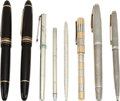 Movie/TV Memorabilia:Memorabilia, A Farrah Fawcett Group of Fancy Writing Pens, 1970s-2000s....(Total: 8 Items)