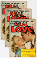 Silver Age (1956-1969):Romance, Real Love #76 Group (Ace Periodicals, 1956) Condition: Average VF.... (Total: 12 Comic Books)