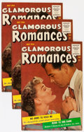 Golden Age (1938-1955):Romance, Glamorous Romances #89 Group (Ace, 1956) Condition: Average VF.... (Total: 10 Comic Books)