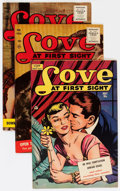 Golden Age (1938-1955):Romance, Love at First Sight Group (Ace, 1951-56) Condition: Average VF....(Total: 7 Comic Books)