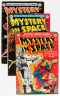 Golden Age (1938-1955):Science Fiction, Mystery in Space Group (DC, 1951-60) Condition: Average VG....(Total: 6 Comic Books)