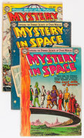 Golden Age (1938-1955):Science Fiction, Mystery in Space Group (DC, 1951-56) Condition: Average GD....(Total: 12 Comic Books)