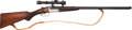 Long Guns:Other, Albert Wanderer Hammerless Cape Gun with Telescopic Sight.. ...