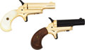 Handguns:Derringer, Palm, Cased Pair of Butler Derringers.... (Total: 2 Items)