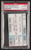 Baseball Collectibles:Tickets, 1994 Michael Jordan 1st Home Run Ticket Stub - PSA Authentic. ...
