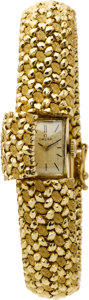 Estate Jewelry:Watches, Omega Lady's Gold Wristwatch. ...