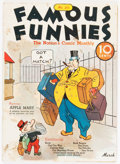 Platinum Age (1897-1937):Miscellaneous, Famous Funnies #20 (Eastern Color, 1936) Condition: VG....