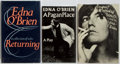 Books:Literature 1900-up, Edna O'Brien. SIGNED. Three First Editions. Various publishers,1965-1982. August is a Wicked Month signed by the author...(Total: 3 Items)