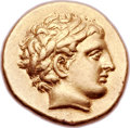 Ancients:Greek, Ancients: MACEDONIAN KINGDOM. Philip II (359-336 BC). AV stater(19mm, 8.54 gm, 5h). ...