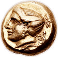Ancients:Greek, Ancients: IONIA. Phocaea. Ca. 387-326 BC. EL hecte (10mm, 2.56gm). ...