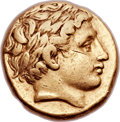 Ancients:Greek, Ancients: MACEDONIAN KINGDOM. Philip II (359-336 BC). AV stater (18mm, 8.57 gm, 5h). ...