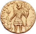 Ancients:Oriental, Ancients: INDIA. Kushan Empire. Vasudeva I (ca. AD 192-225). AV dinar (21mm, 8.01 gm, 12h). ...