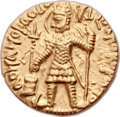 Ancients:Oriental, Ancients: INDIA. Kushan Empire. Vasudeva I (ca. AD 192-225). AV dinar (21mm, 7.99 gm, 12h). ...