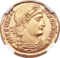 Ancients:Roman Imperial, Ancients: Constantine I the Great (AD 307-337). AV solidus (21mm, 4.47 gm, 1h). ...