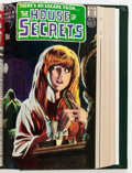Bronze Age (1970-1979):Horror, House of Secrets #81-100 Bound Volume (DC, 1969-72)....