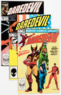 Modern Age (1980-Present):Superhero, Daredevil 192-318 And More Box Lot (Marvel, 1983-96) Condition:Average NM-....