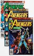 Modern Age (1980-Present):Superhero, The Avengers Box Lot (Marvel, 1979-96) Condition: Average NM....