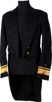 US Navy Rear Admiral's Tailed Jacket