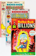 Bronze Age (1970-1979):Cartoon Character, Richie Rich Billions File Copy Short Box Group (Harvey, 1974-82)Condition: Average NM-....