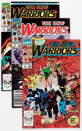 Modern Age (1980-Present):Superhero, The New Warriors #1-40, 43, and 50 Multiple Box Lots Group (Marvel,1990-94) Condition: Average NM.... (Total: 4 Box Lots)