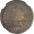 Early Half Dollars, 1794 50C -- Obverse Scratched -- NGC Details. VG. O-105, R.5....