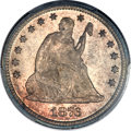 Seated Quarters, 1876 25C MS66 PCGS. CAC....