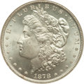 Morgan Dollars: , 1878 8TF $1 MS64 NGC. NGC Census: (1958/383). PCGS Population(2418/536). Mintage: 699,300. Numismedia Wsl. Price for probl...