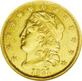 Early Quarter Eagles: , 1831 $2 1/2 --Plugged, Repaired, Whizzed--ANACS. VF20 Details.Bass-3028, Breen-6134, R.4. The plug and subsequent repair is...
