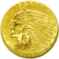 Indian Quarter Eagles: , 1911-D $2 1/2 MS65 NGC. The 1911-D quarter eagle is quite rare in Gem condition. It has the lowest mintage in the series, i...