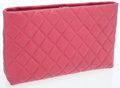 Luxury Accessories:Accessories, Chanel Dusty Rose Lambskin Leather Classic Clutch Bag with CCClosure . ...