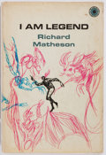 Books:Literature 1900-up, Richard Matheson. I am Legend. New York: Walker and Co.,1970. Octavo. 122 pages. Publisher's binding. Dust jacket s...