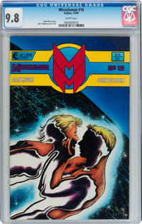 Miracleman #16 (Eclipse, 1989) CGC NM/MT 9.8 White pages