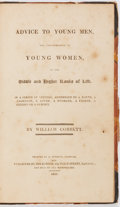 Books:Non-fiction, William Cobbett. Advice to Young Men and (Incidentally) Young Women in the Middle and Higher Ranks of Life. Lond...