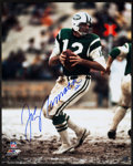 Football Collectibles:Photos, Joe Namath Signed Oversized Photograph....