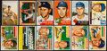 Baseball Cards:Lots, 1953-1956 Topps and Bowman Baseball Collection (85). ...